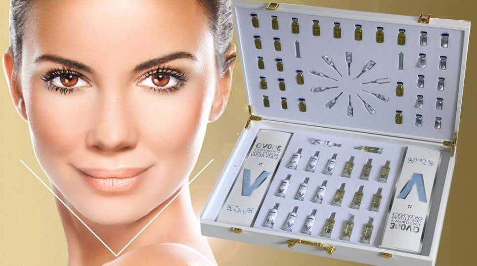 美容院专用v脸塑型套3dv脸减龄微整提拉塑形线雕木乃伊支架面部套图片