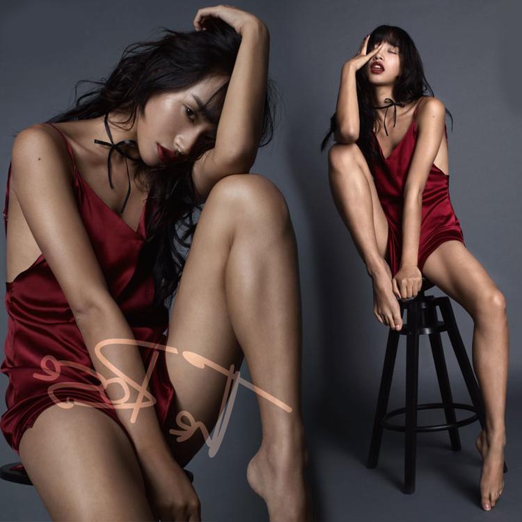 性感写真摄影_影楼写真服装摄影个人内景性感私房艺术照工作室露背吊带小礼服
