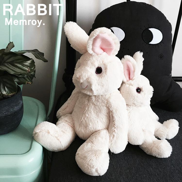 大白兔布偶超柔短毛绒兔子公仔小白兔玩偶挂件复古rabbit儿童节礼