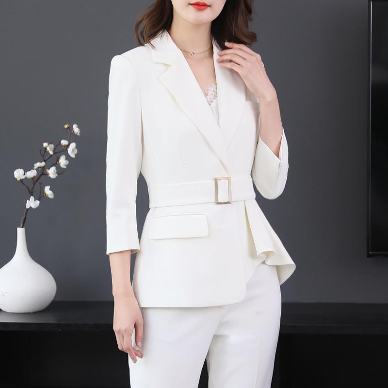 白涩套装+名媛