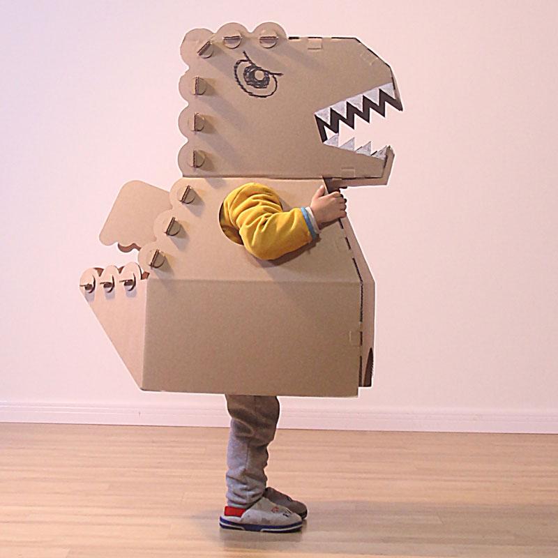 纸箱恐龙可穿模型制作幼儿园儿童365bet网上娱乐_365bet y亚洲_365bet体育在线导航diy玩具纸壳纸板抖音同款