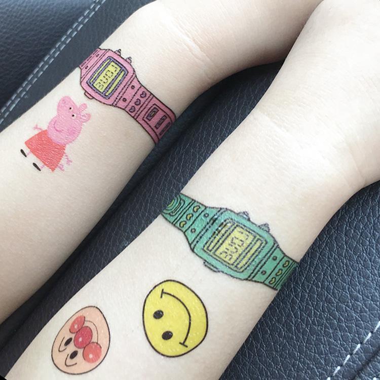 怪兽大学怪兽电力公司儿童小孩防水纹身贴纸宝宝卡通动漫纹身贴画