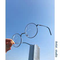 2018新款眼镜男韩版潮流情侣文艺复古时尚镜框舒适个性平光镜