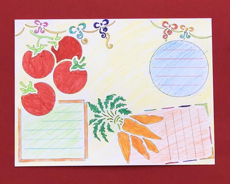 热卖手抄报模板镂空花边工具尺儿童小学生幼儿园小报作业节日画图装饰