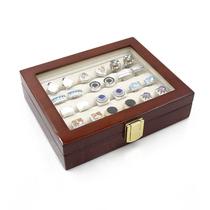 包邮 高档法式袖扣盒子袖钉收纳盒定制戒指耳环耳钉饰品展示盒