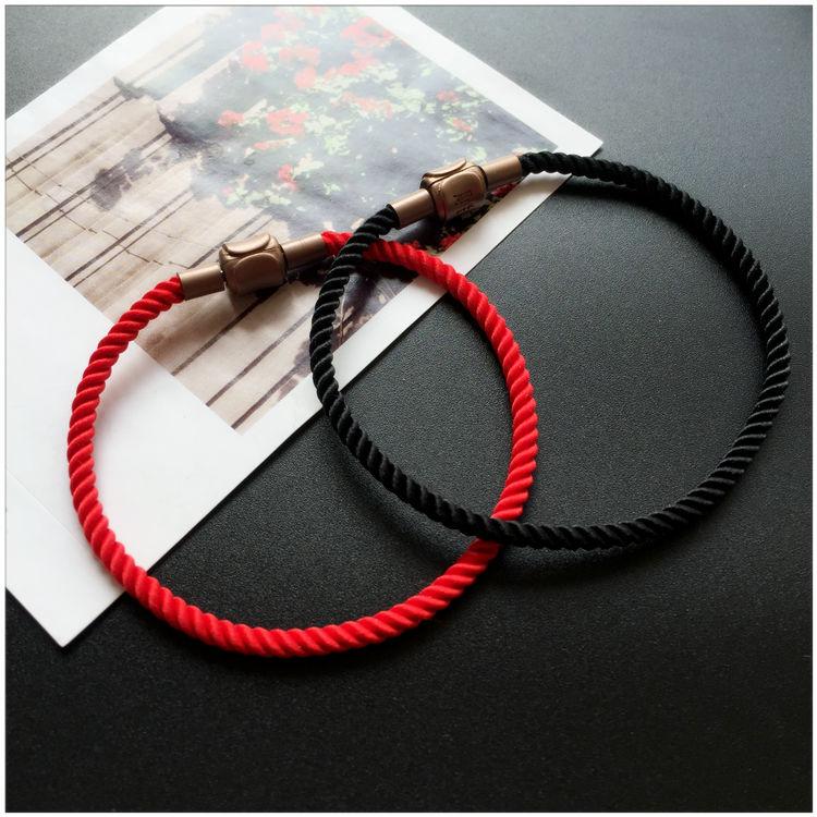 热卖红绳子diy抖音头发手链编织线手工编制项链红线手绳编戒指的红绳