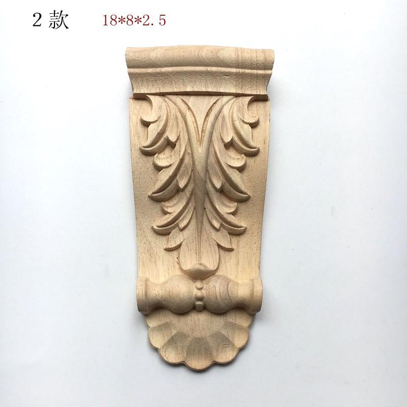 热卖东阳木雕柱头欧式垭口雕花梁托牛腿柱头欧式罗马柱头橱柜装饰柱头图片