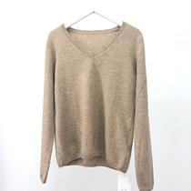 2019新款 100%羊绒 V领时尚针织衫#006-1