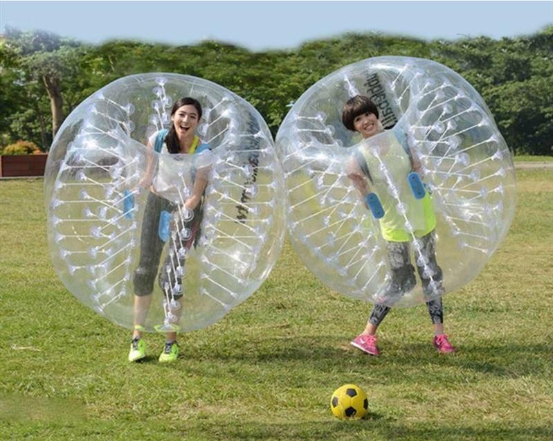 碰碰成人在线视频_热卖人体球雪地撞撞球冲充气户外成人儿童2个趣味运动会道具加厚碰碰