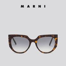 MARNI 女士  Day系列 灰色镜片 圆形镜框 太阳眼镜 墨镜