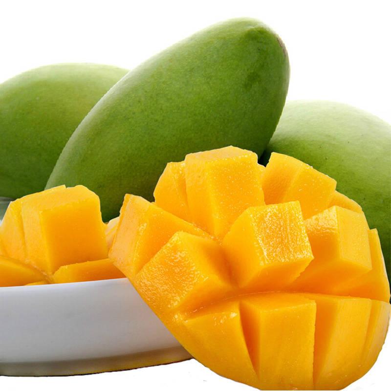 热卖海南金煌芒 热带新鲜水果海南特产 芒果生鲜水果产地直发 5斤装图片