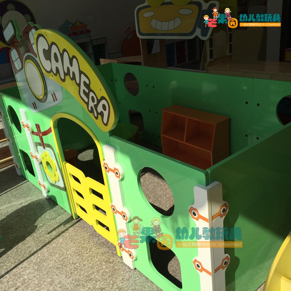 热卖早教仿真过家家游戏屋 特大号森林邮局 幼儿园区角娃娃家角色扮演图片