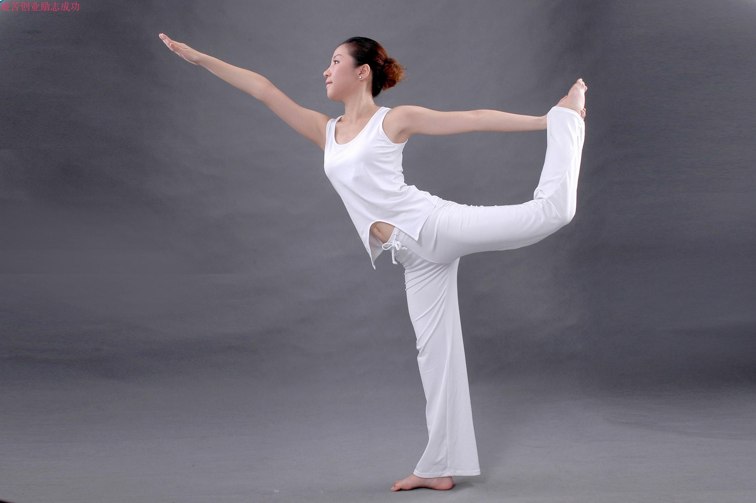 瑜伽美圖 現代裝飾畫標準美女柔術練功圖 裝飾畫掛圖貼畫高清照片圖片