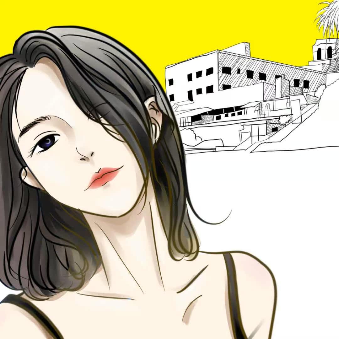 韩漫礼物少女漫画转手绘照片漫画人物头像真人彩漫男生v礼物ins大王腾讯卡情侣图片
