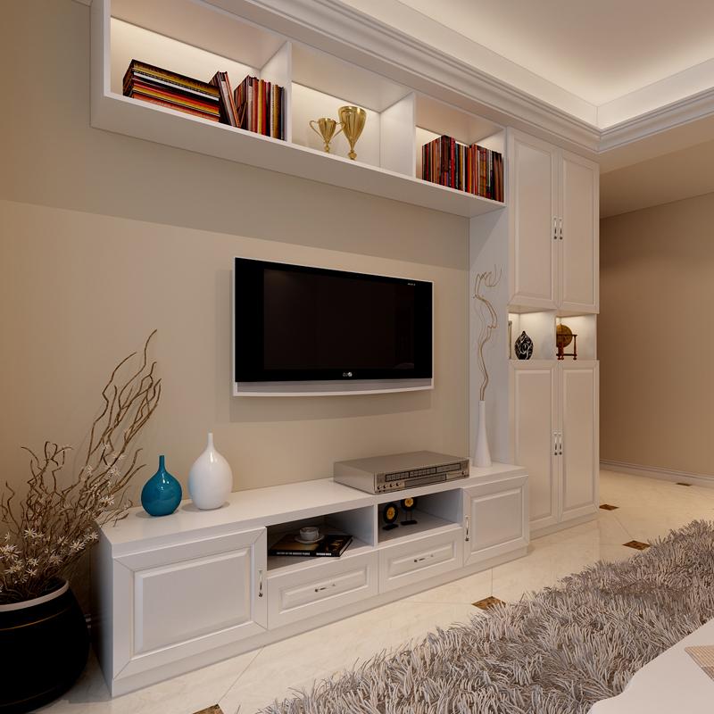 深圳定制整体环保板式衣柜家具 全屋定做欧式简约现代组合电视柜
