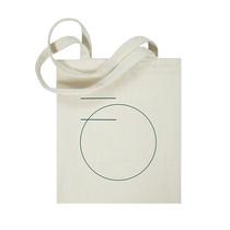 BOTHERME 原创帆布包袋 单肩购物袋环保袋手提棉布袋子 米色极简
