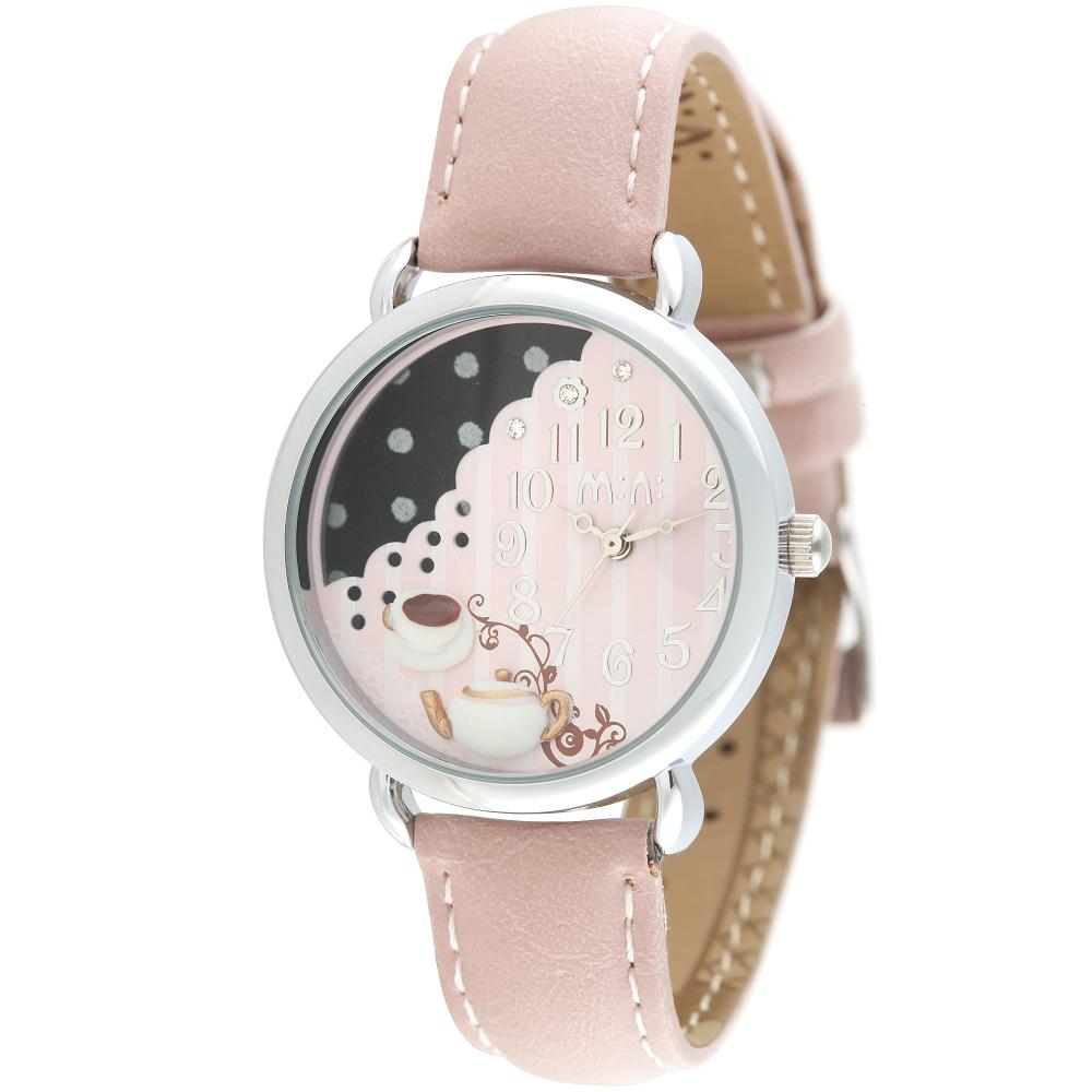 韩国MiNi手表 女生手表卡通立体软陶学生手表