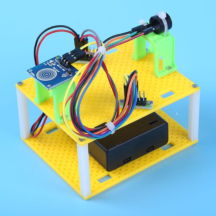 热卖小学科学实验玩具 科技小制作diy 创意创新小发明 触摸门铃模型