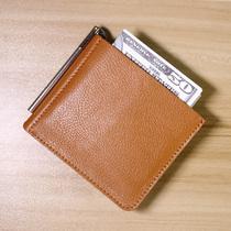 防盗刷屏蔽NFC防消磁钱包简约钱夹男真皮超薄短款迷你超薄小卡包