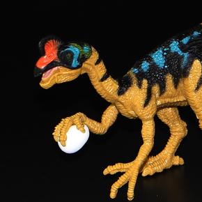 包邮chap mei恐龙模型玩具侏罗纪世界窃蛋龙偷蛋龙图片