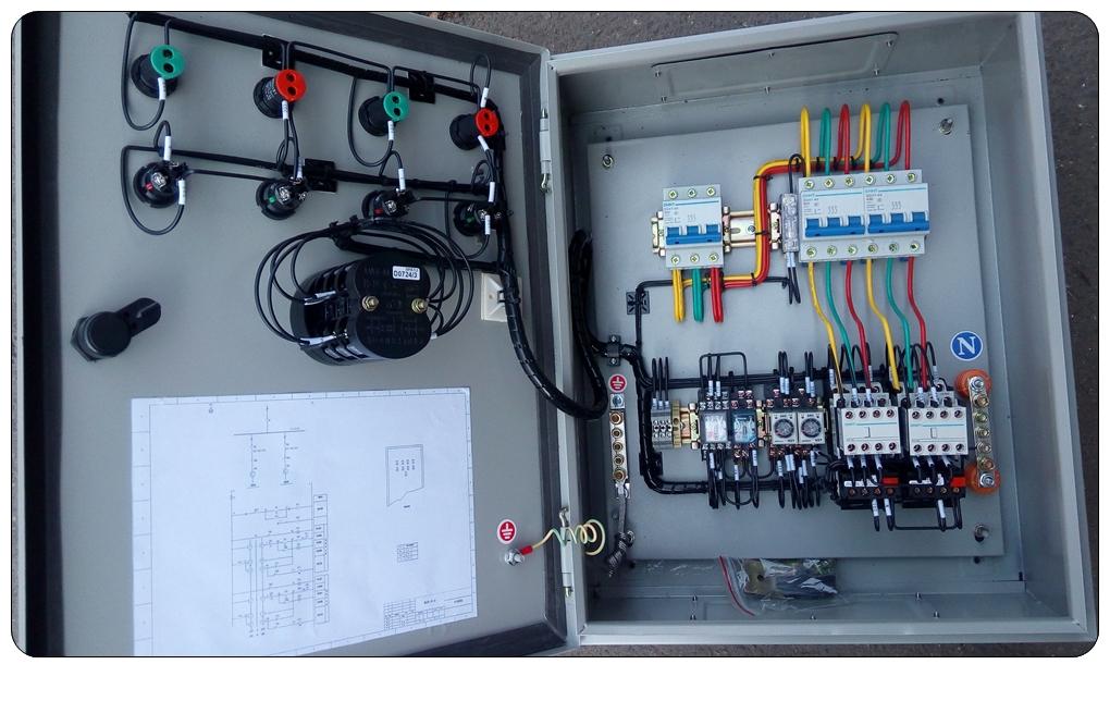 想装一个两个水箱浮球一个水泵控制电路图图片