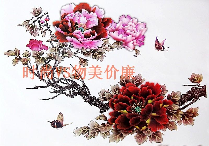 点牡丹花纹身手稿分享展示图片