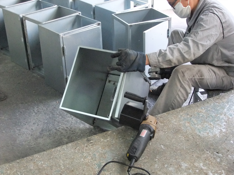斯诺克 小型拉丝机 大功率 不锈钢表面处理手提图片
