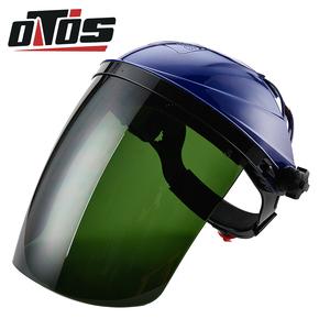 包邮安全帽型自动变光pc焊接面罩电焊面屏变光面罩图片