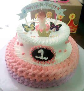 创意宝宝100天周岁小汽车造型生日蛋糕重庆成都生日图片