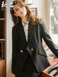 Чёрный костюм женские костюмы темперамент официальная одежда установите интервью оккупация юбка 2021 новая весна и лето деньги рабочих делать ремонт одежды тело