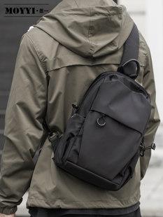 Случайный мужской грудь пакет простой плечо сумка многофункциональный прилив бренд косой рюкзак пакет тенденция почтальон пакет мужчина пакет
