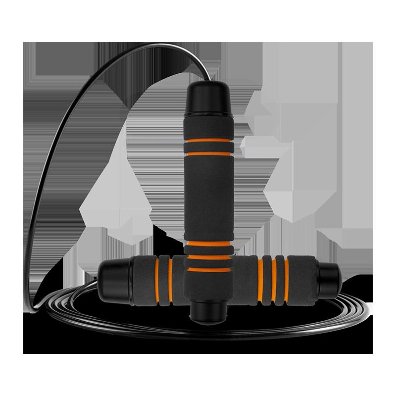 跳绳健身减肥运动燃脂计数器成人专用儿童小学生中考钢丝专业绳子