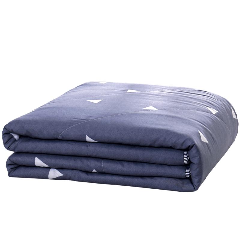 夏天水洗棉空调被夏凉被芯单人学生宿舍夏季双人春秋薄被子四件套
