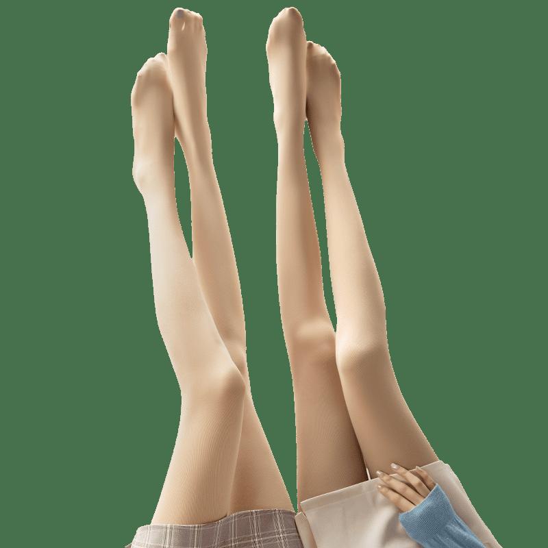 光腿丝袜女春秋冬款外穿超自然肉色神器裸感加厚秋季加绒打底裤袜
