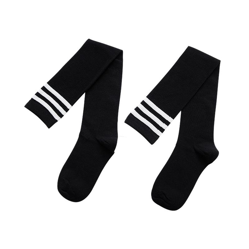 长筒袜子女春秋冬中筒袜潮夏季薄款过膝盖高筒足球日系学生jk小腿