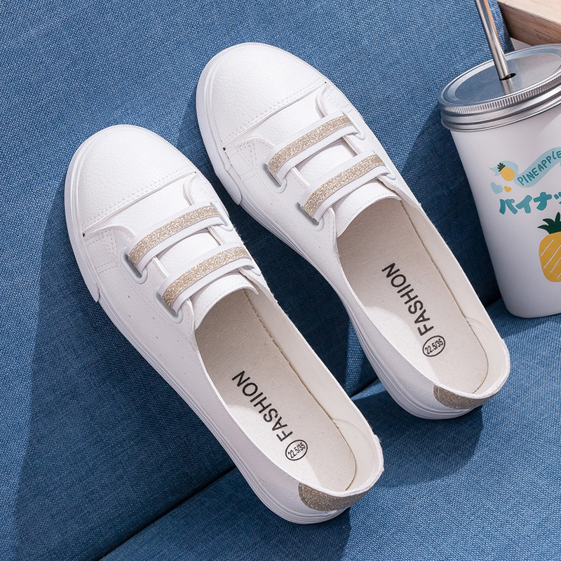 ed8021bd959d91 2019 summer new shallow small white shoe women s shoes hundred foundation  Korean Style Sneaker breathable Flats hollowed white shoes