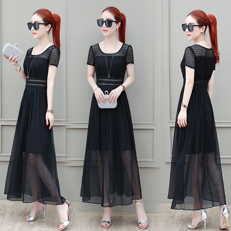 9970e08d6418 Long skirt female Summer 2018 New skirt women s summer long ...