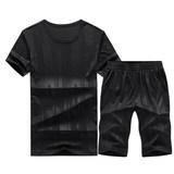 【希彼】夏季男士运动套装五分裤(后三款)券后29.9元包邮