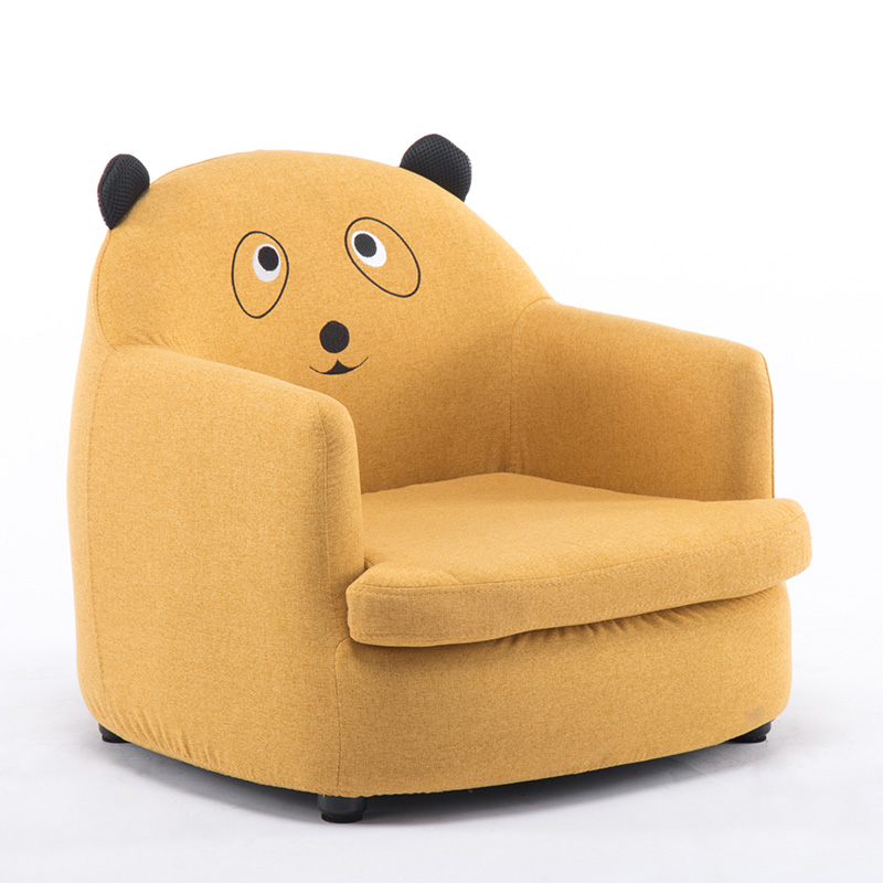 Yellow / fabric bear