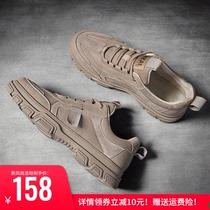 马丁鞋男低帮2020年新款百搭男鞋潮流英伦风潮鞋秋季休闲男士板鞋