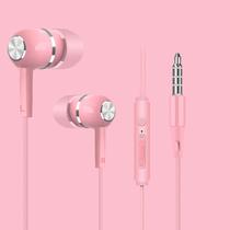 摩卡捷适用vivo X23X27IQOO耳机有线入耳式华为小米oppo苹果安卓手机通用耳塞男女生可爱r11r9s高音质原配x21