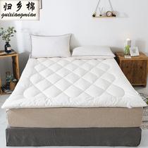 棉花褥子垫被双人1.8m床褥垫全棉1.35单人宿舍加厚棉絮床垫子家用
