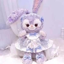 一元小商品包邮星黛露公仔毛绒玩具布娃娃可爱骨架款史黛拉兔子玩