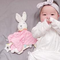 新生哄睡玩具宝宝安抚巾可入口0-1玩偶婴儿手偶睡觉