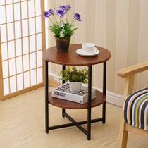 边几现代简约小茶几移动角几沙发边桌边柜床头桌置物架北欧小圆桌