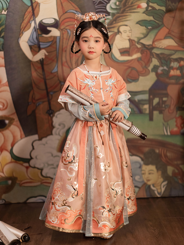 CHULI original Chinese dress, girls' Chinese style dress
