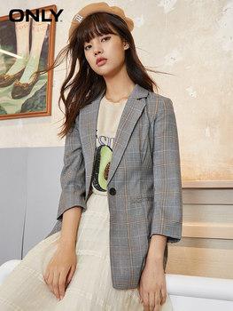 Жакеты,  ONLY новый летний подушка плечо тонкий сетка случайный костюм пальто женщина |119308513, цена 3907 руб