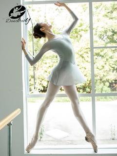 Репитиционные юбки, полупачки,  Danzbaby марля гимнастика одежда взрослых женщин форма пижама танец одежда балет практика гонг одежда форма одежда DZ55, цена 1920 руб