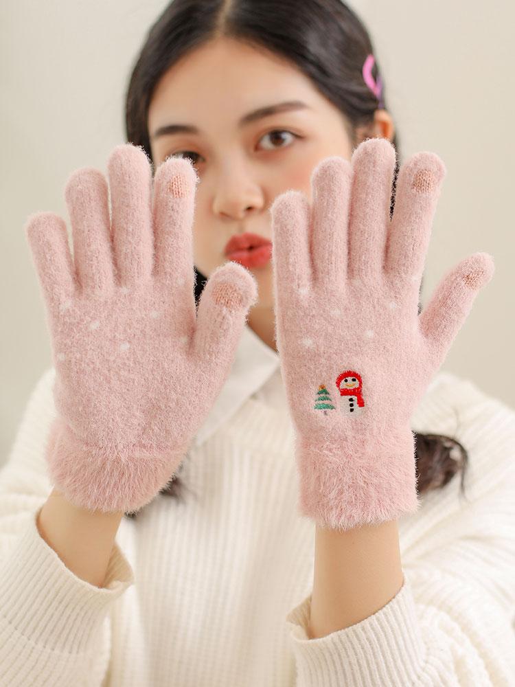 宝姬兰 加绒加厚 女式触屏手套 天猫优惠券折后¥9.8包邮(¥19.8-10)多款可选
