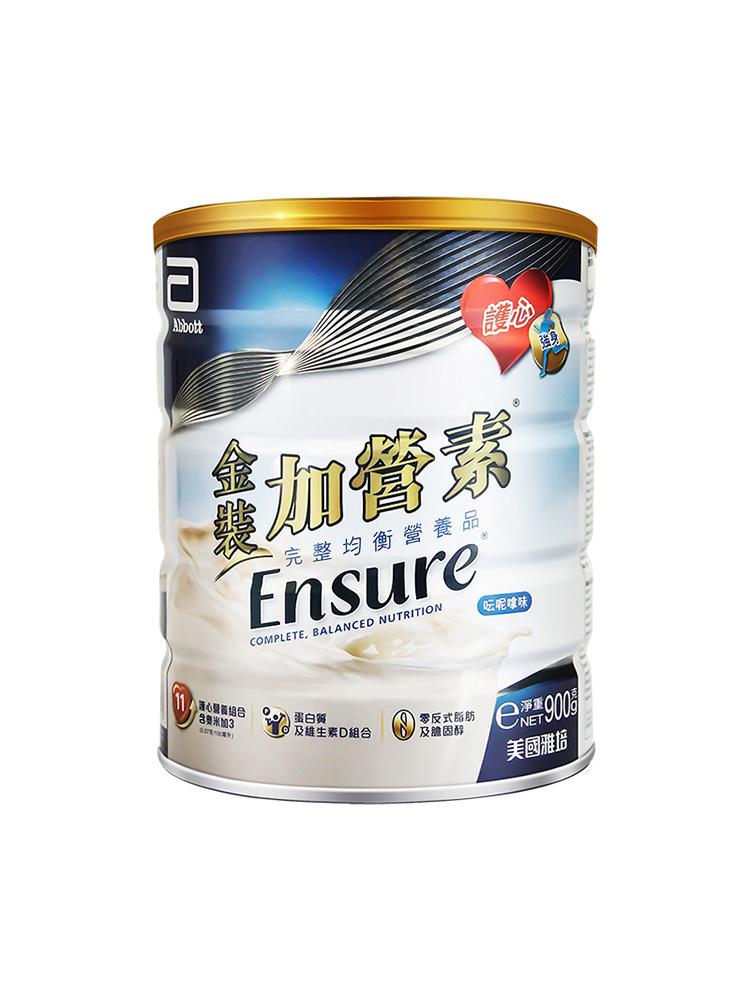 Abbott 雅培 金装加营素 完整均衡营养粉 港版 900g 双重优惠折后¥208包邮包税